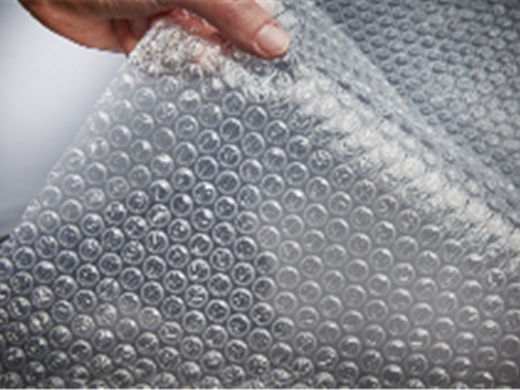 Materiale | Film in bolle aria